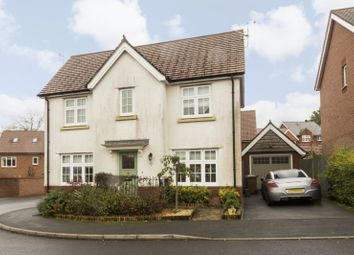 Thumbnail 4 bed detached house for sale in Blacksmith Close, Oakdale, Blackwood