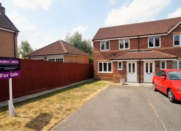 Thumbnail 2 bed end terrace house for sale in Mercer Drive, Lincoln