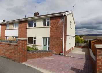 Thumbnail 3 bed semi-detached house for sale in Longford Road, Neath, Neath Port Talbot.