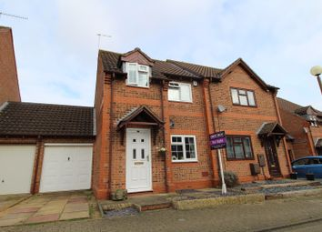 Thumbnail 3 bedroom semi-detached house for sale in Lynmouth Crescent, Milton Keynes