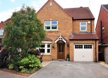 Thumbnail 4 bed detached house for sale in Water Lily Gardens, Worksop
