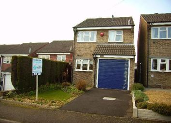 Thumbnail 3 bedroom detached house to rent in Audens Way, Midway, Swadlincote