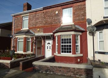 Thumbnail 2 bed terraced house for sale in Maybank Road, Tranmere