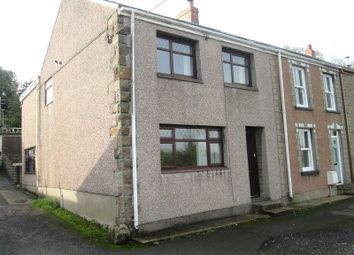 Thumbnail 3 bed end terrace house for sale in Tanybryn Terrace, Penclawdd, Swansea, City And County Of Swansea.