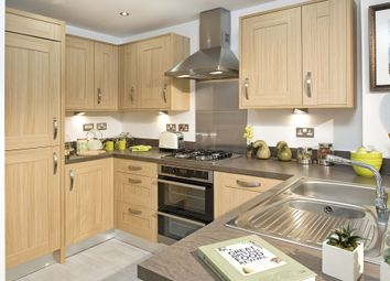 """Thumbnail 4 bed terraced house for sale in """"Faversham"""" at The Crescent, Lawley Village, Telford"""