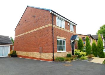 Thumbnail 4 bed detached house for sale in Coomer Court, Newcastle-Under-Lyme