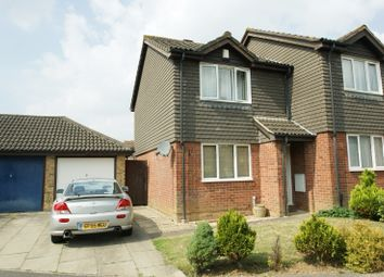 Thumbnail 2 bed end terrace house to rent in Duckworth Close, Highfield, Ashford