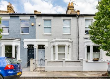 Thumbnail 3 bed terraced house for sale in Pursers Cross Road, Parsons Green, Fulham, London