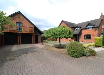 Thumbnail 4 bed detached house for sale in Wade Lane, Hill Ridware, Rugeley
