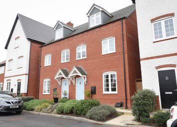 Thumbnail 3 bed semi-detached house for sale in Norman Edwards Close, Nether Whitacre, Coleshill, Birmingham