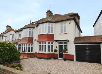 Thumbnail 4 bed semi-detached house for sale in Wellstead Gardens, Westcliff-On-Sea, Essex