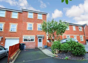 Thumbnail 4 bedroom end terrace house for sale in Chirk Close, Newport