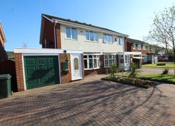Thumbnail 3 bed semi-detached house for sale in Brookshaw Way, Walsgrave On Sowe, Coventry