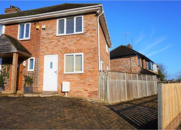 Thumbnail 2 bedroom end terrace house for sale in Pinewood Drive, Bletchley