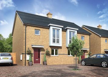 "Thumbnail 3 bed semi-detached house for sale in ""The Latin"" at Wood View, Grays"
