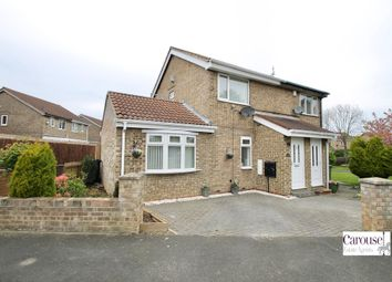 Thumbnail 2 bed semi-detached house for sale in Slaley Close, Gateshead