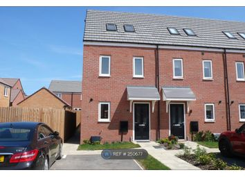 Thumbnail 3 bedroom end terrace house to rent in Linus Grove, Peterborough