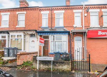 Thumbnail 3 bed terraced house for sale in Goldsmith Road, Kings Heath, Birmingham