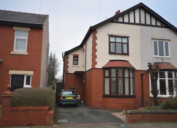 Thumbnail 3 bed semi-detached house for sale in Vernon Avenue, Blackpool