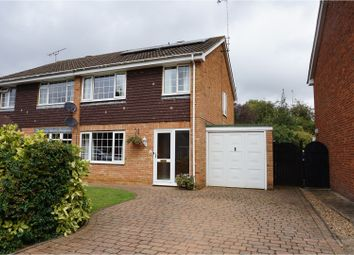Thumbnail 3 bed semi-detached house for sale in Long Meadow, Markyate