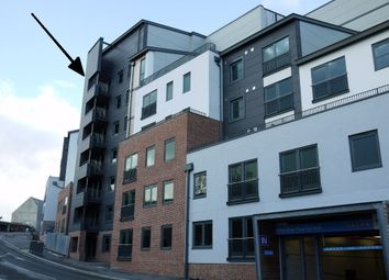 Thumbnail 2 bed flat to rent in Trelawney House, Trinity Street, St Austell, Cornwall
