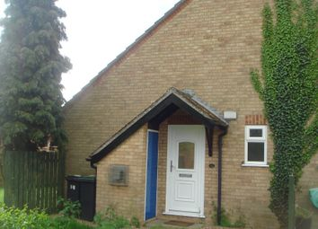 Thumbnail 1 bedroom town house to rent in Flatford Close, Stowmarket