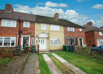 Thumbnail 3 bed terraced house to rent in Friar Park Road, Wednesbury