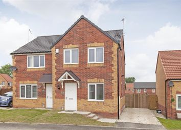 3 bed semi-detached house for sale in Masefield Avenue, Holmewood, Chesterfield S42