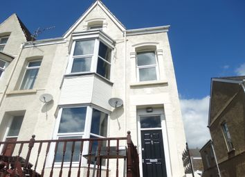 Thumbnail 3 bed flat to rent in Chaddesley Terrace, Swansea