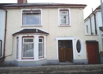 Thumbnail 3 bed semi-detached house for sale in St Marie Street, Bridgend