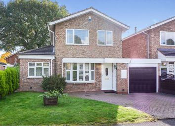 Thumbnail 3 bed detached house for sale in Atcham Close, Redditch