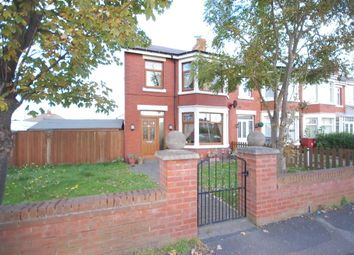 Thumbnail 4 bedroom end terrace house for sale in Hawes Side Lane, Blackpool