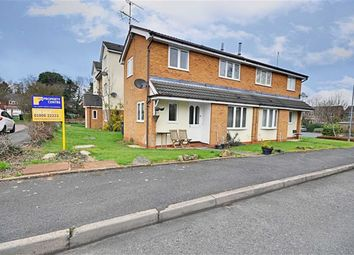 Thumbnail 2 bed end terrace house to rent in Water Croft, Long Meadow, Worcester