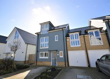 Thumbnail 4 bed link-detached house for sale in Trinity Drive, Folkestone, Kent