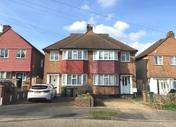 Thumbnail 4 bed semi-detached house for sale in Barrington Road, North Cheam, Sutton