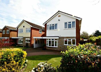 Thumbnail 4 bed detached house for sale in Abbots Close, Solihull