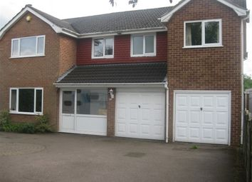 Thumbnail 5 bed detached house to rent in Little Sutton Road, Four Oaks, Sutton Coldfield