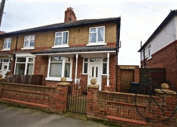 Thumbnail 3 bed semi-detached house to rent in The Fairway, Darlington