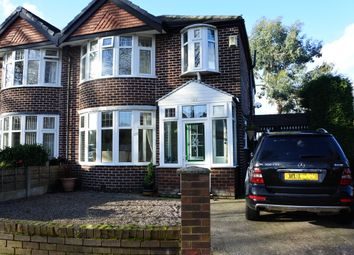 Thumbnail 3 bedroom semi-detached house to rent in Canterbury Road, Urmston, Manchester