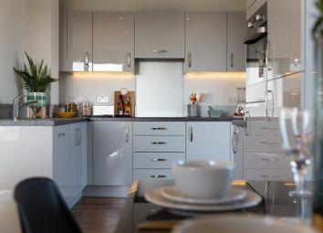Thumbnail 3 bedroom flat for sale in Siskin Apartments, Dunedin Road, London
