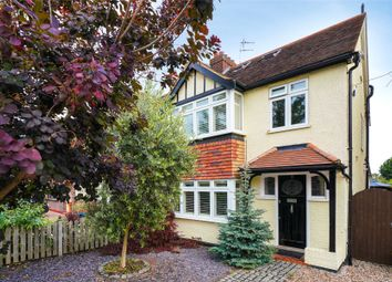 Thumbnail 4 bed semi-detached house for sale in Hampton Court Avenue, East Molesey, Surrey