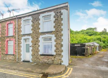Thumbnail 3 bedroom end terrace house for sale in Eirw Road, Porth