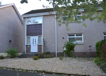 Thumbnail 3 bedroom end terrace house to rent in Finistere Avenue, Falkirk