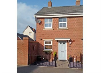 Thumbnail 2 bed semi-detached house for sale in Stamping Way, Bloxwich, Walsall, West Midlands