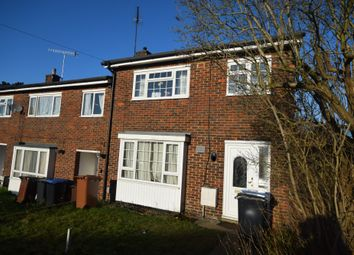 Thumbnail 3 bed terraced house to rent in Fern Dells, Hatfield, Hertfordshire