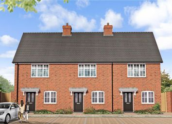 Thumbnail 2 bed terraced house for sale in Peters Village, Hall Road, Evabourne, Wouldham, Rochester, Kent