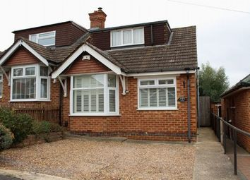 Thumbnail 2 bed semi-detached house for sale in Cameron Crescent, Duston, Northampton