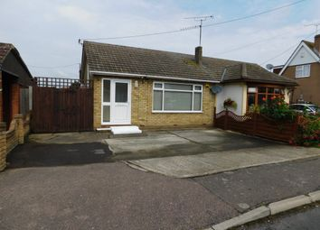 Thumbnail 1 bed semi-detached bungalow to rent in Dewyk Road, Canvey Island