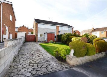 Thumbnail 3 bed semi-detached house for sale in Milan Drive, Westlands, Newcastle-Under-Lyme
