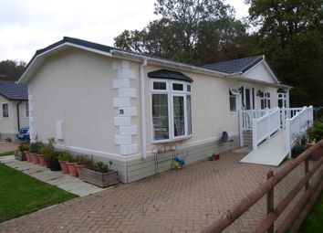 Thumbnail 2 bed mobile/park home for sale in Capel Gardens Park, Capel Road, Ruckinge, Ashford, Kent